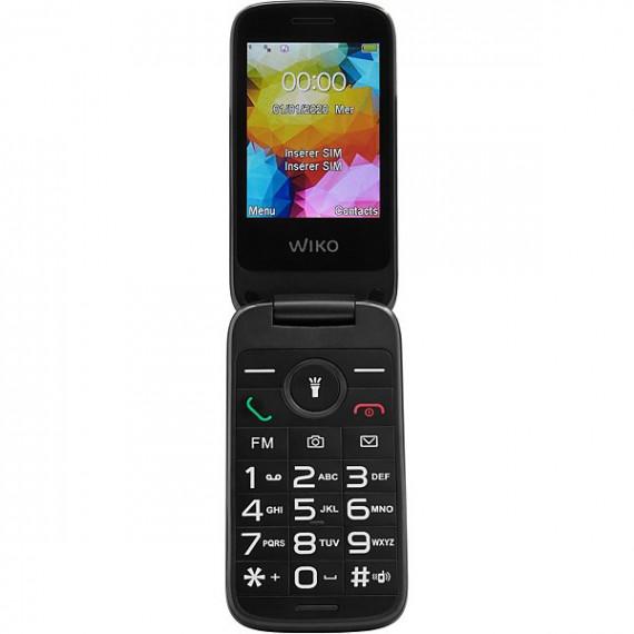 WIKO Téléphone portable  F300 Noir