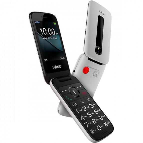 WIKO Téléphone portable  F300 Blanc