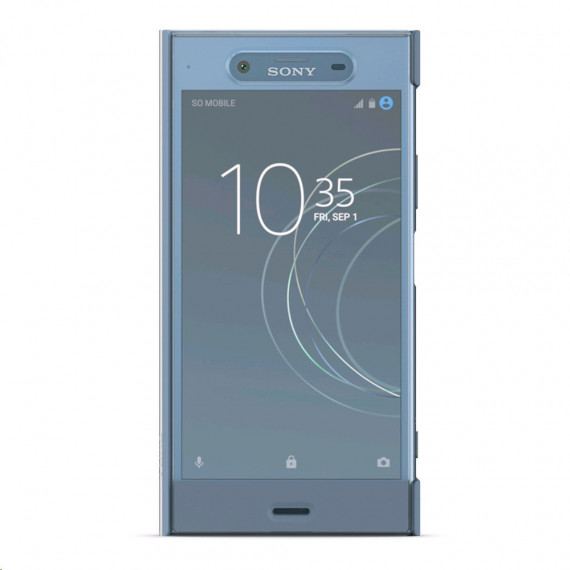 SONY Style Cover Touch SCTG50 Bleu/Gris Xperia XZ1