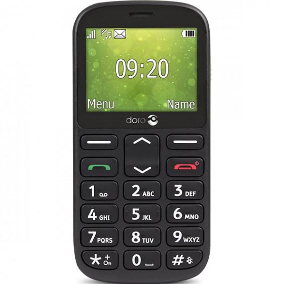Doro Téléphone portable  1361 noir