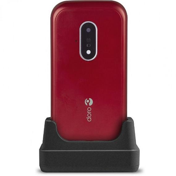 Doro Téléphone mobile  7030 Rouge/Blanc