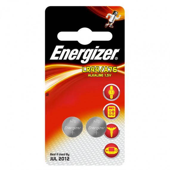 Energizer A76 / LR44 Alkaline 1.5V (par 2)