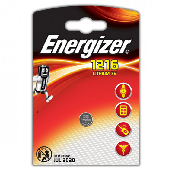 Energizer CR1216 Lithium 3V