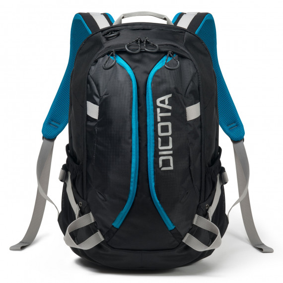 DICOTA Backpack Active (noir/bleu)