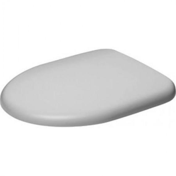 Duravit Architec 0069610000Siège de Toilette Soft Close Charnières en Acier Inoxydable Blanc
