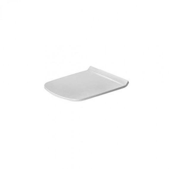 Duravit série Durastyle Rimless 0063710000 rechange Abattant charnières inox finition blanc