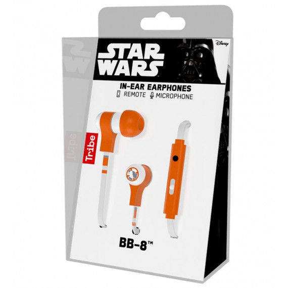 TRIBE ECOUTEURS Microphone - BB-8