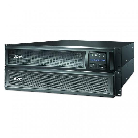 Onduleur APC Smart-UPS X 1500VA SMX1500RMI2U LCD Noir, détail 1200 Watt, 1500 VA Pleine charge: 5,8 min, demi-charge: 17,2 min 10x prises