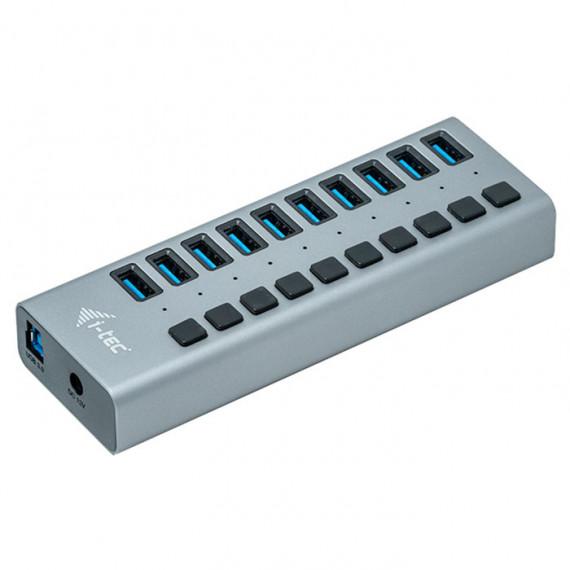 I-TEC USB 3.0 Charging Hub 10 Port + Power Adapter 48W