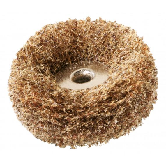Dremel 2 tampons abrasifs 25mm - gros et moyen Grain