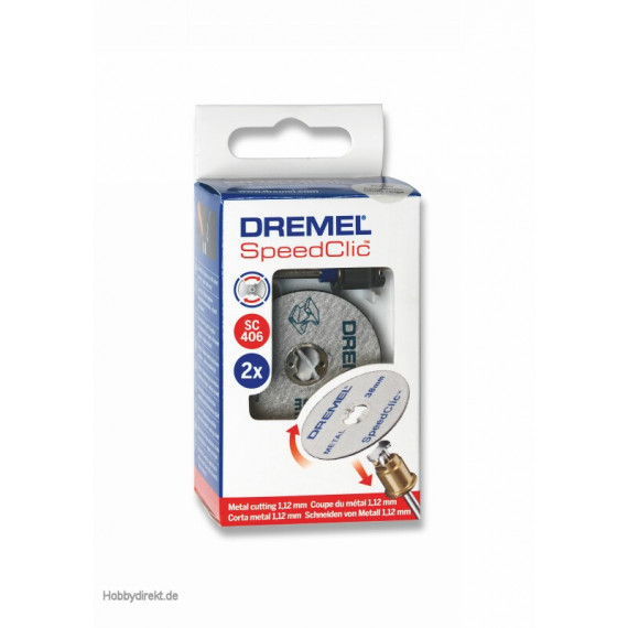 Dremel SpeedClic: Starter-Set (SC406)
