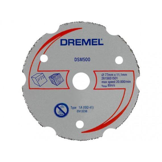 Dremel Lot de 3 disques de découpe pour métaux pour DSM20 (DSM500)