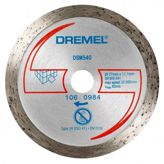 Dremel disque de coupe 2615S540JA (DSM540)