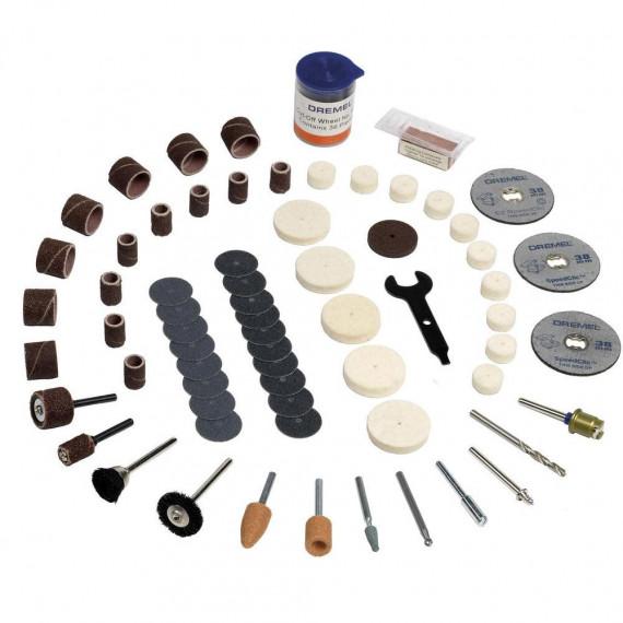 multifonction Dremel Set d'outils 100 pieces 2.615.S72.3JA (723)