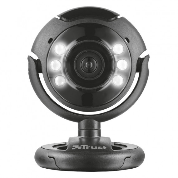 TRUST SPOTLIGHT WEBCAM PRO - Noir