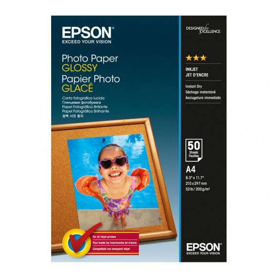 EPSON C13S042539 - Papier photo glacé A4 (50 feuilles)