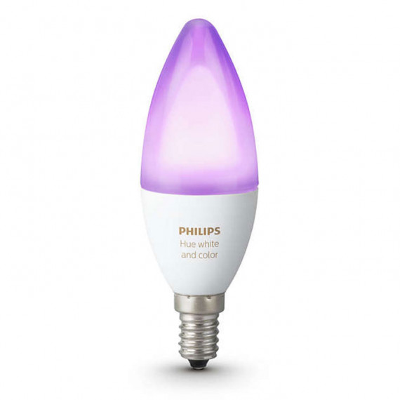 PHILIPS Hue White & Color Ambiance Flamme E14