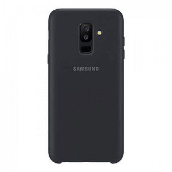 SAMSUNG Coque Double Protection Noir Galaxy A6+ 2018