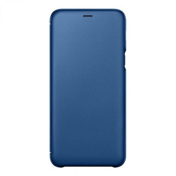 SAMSUNG Flip Wallet Bleu Galaxy A6+ 2018