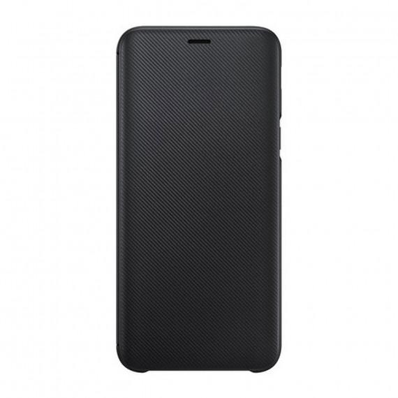 SAMSUNG Flip Wallet Noir Galaxy A6 2018
