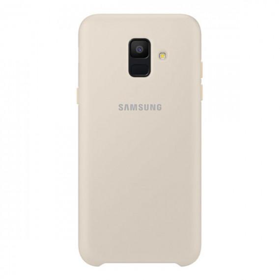 SAMSUNG Coque Double Protection Or Galaxy A6 2018