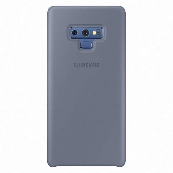 SAMSUNG Coque Silicone Bleu Galaxy Note9