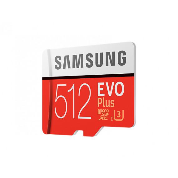 SAMSUNG Carte mémoire  Micro SD EVO Plus 512G avec adaptateur SD