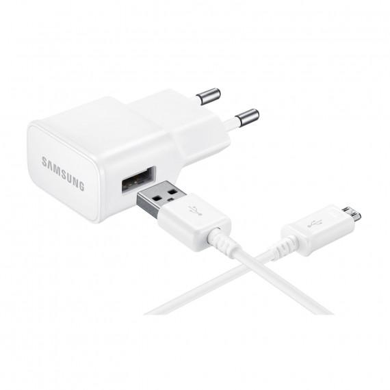 SAMSUNG Samsung EP-TA12 Blanc - Chargeur secteur micro USB 2 A