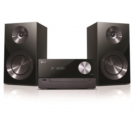 LG LG CM2460 - Micro-chaîne CD/FM/MP3 100 Watts avec Bluetooth et USB