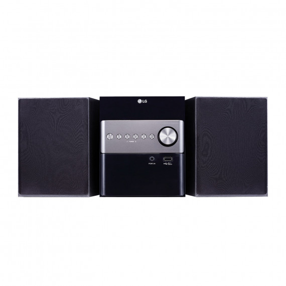 LG LG CM1560 - Micro-chaîne CD/FM/MP3 10 Watts avec Bluetooth et USB