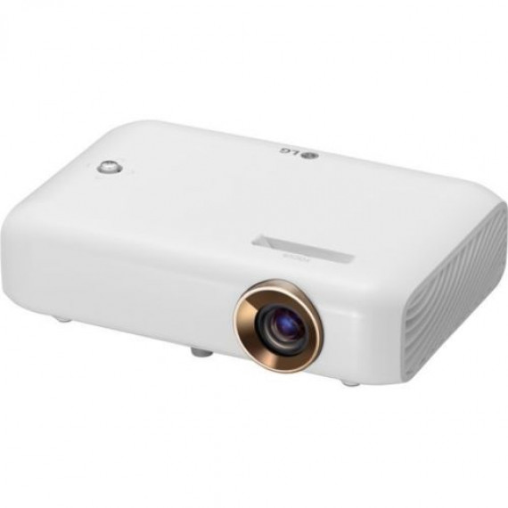 Video Projecteur LG PH550G blanc, 3D, 23 dB(A) ECO, HDMI, Bluetooth, Akku