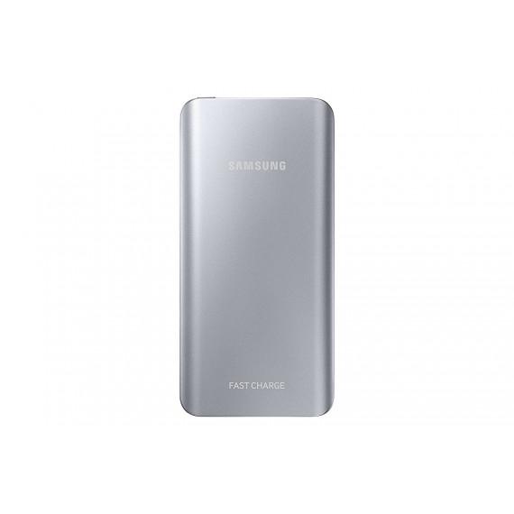 Samsung PowerBank Fast Charge Argent - Batterie externe 5200 mAh avec fonction de charge rapide (AFC)