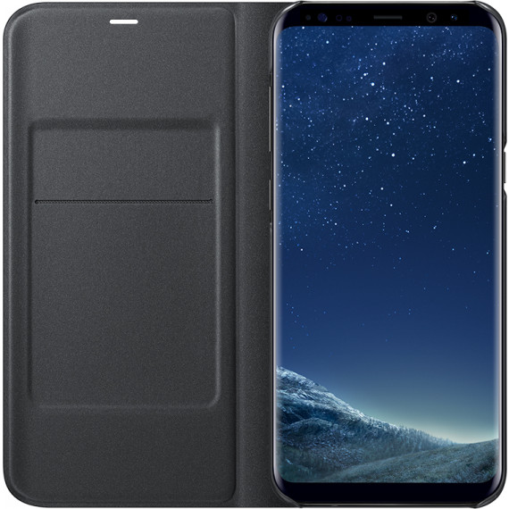 SAMSUNG LED View Cover Noir Galaxy S8+