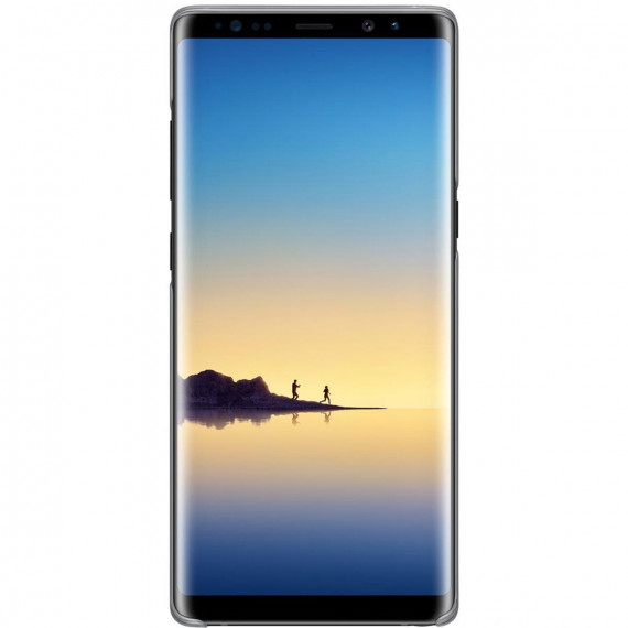 SAMSUNG Clear Cover Noir Galaxy Note 8