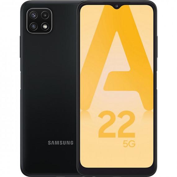 SAMSUNG Smartphone Galaxy A22 5G GRIS 4Go 128Go Android 11 One UI 3.1 Batt 5000 mAh CR 1