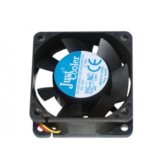 MCL Ventilateur à roulement à billes + adaptateur carte mère - 60 x 60mm