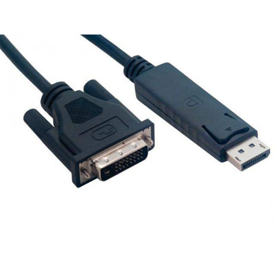 MCL Câble DisplayPort mâle / DVI-D mâle - 2m