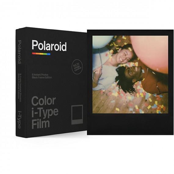 Polaroid - Films couleurs pour appareil i-Type - Black Frame Edition - Cadre Noir - 8 photos