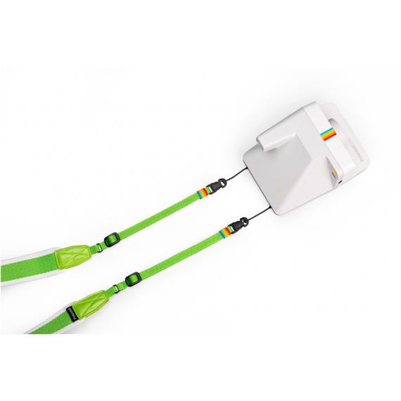 Polaroid Camera courroie plate – Verte