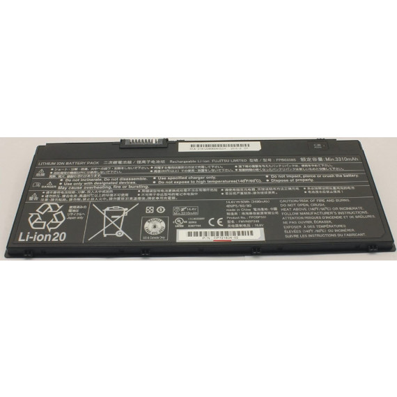 Fujitsu Battery 4cell 50Wh for U747 U757  Battery 4cell 50Wh for U747 U757 & T937