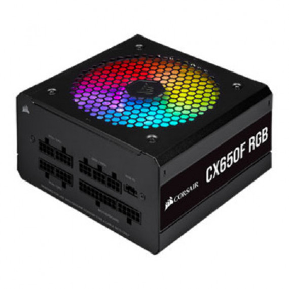 CORSAIR ALIM  CX650F RGB 80+ Bronz  Black *CP-9020217-EU* 7372