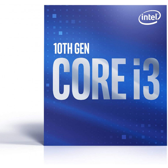 INTEL Core i3-10100F 3.6GHz LGA1200 Box  Core i3-10100F 3.6GHz LGA1200 6M Cache No Graphics Boxed CPU