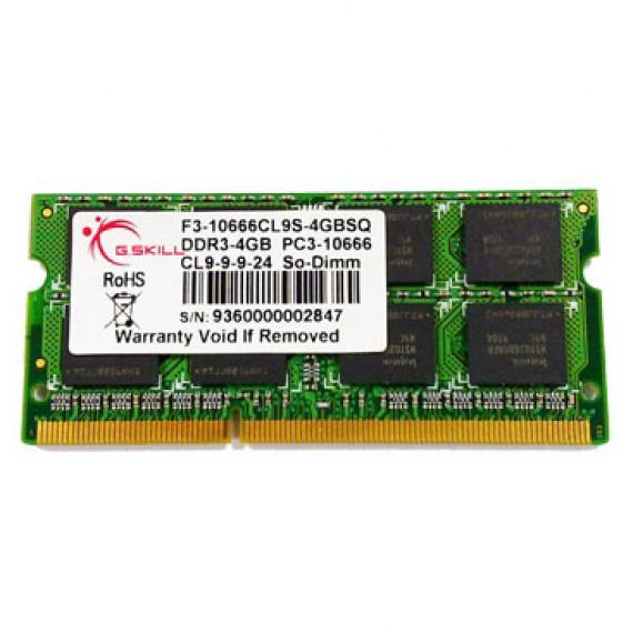 GSKILL SODIMM 4 Go DDR3-SDRAM PC3-10666