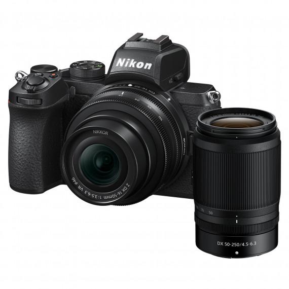 Nikon Z 50 + 16-50 VR + 50-250 VR