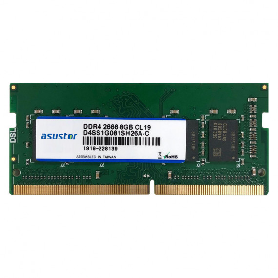 Asustor 4 Go (1 x 4 Go) DDR4 SO-DIMM 2133 MHz (AS-8GD4)