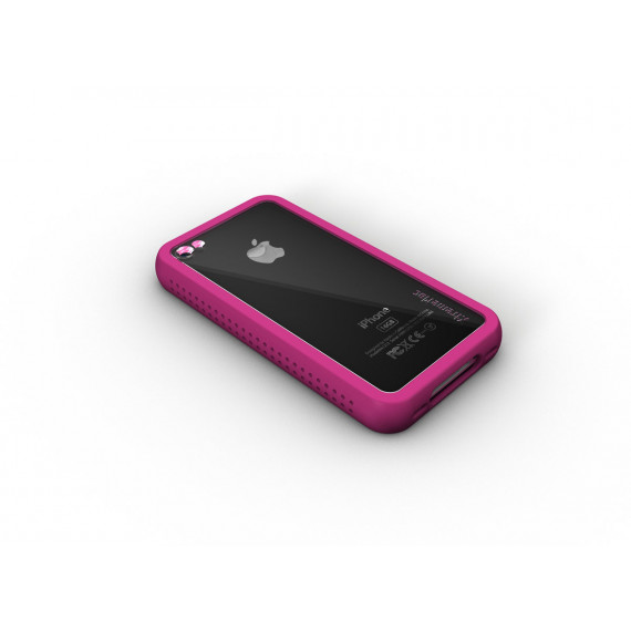 XTREMEMAC Housse iPhone 4 - Microshield Accent Pink