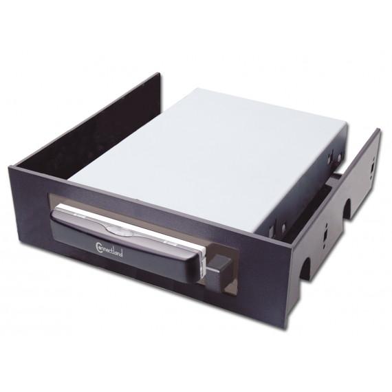 """CONNECTLAND BOITIER EXTERNE USB V2.0 + SATA POUR DISQUE DUR 2.5"""" IDE AVEC RACK"""