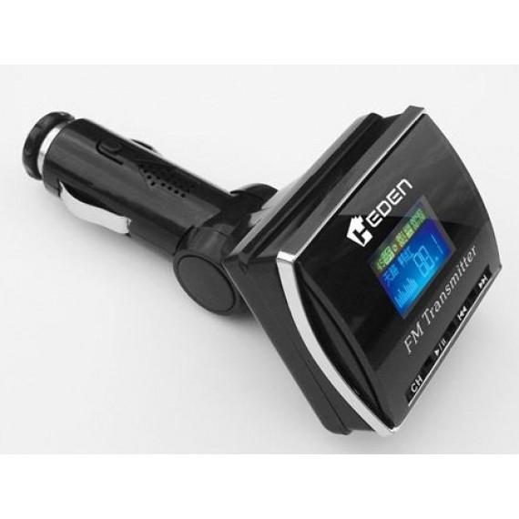 HEDEN BETRFM4100 - Transmetteur FM 4100 lecteur MP3, écran LCD, port USB, allume-cigare