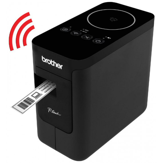 Brother PT-P750W Etiqueteuse Connectable Mono WIFI/NFC