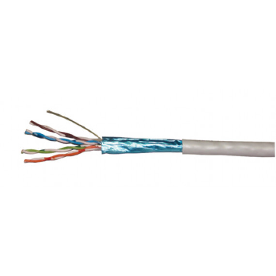 MCL Rouleau de câble CAT 5E patch F/UTP - 100m